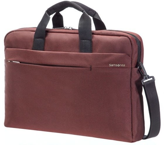 "Samsonite Network 2 - LAPTOP BAG 17.3"", červená"