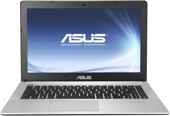 ASUS X450CC-WX181H, šedá