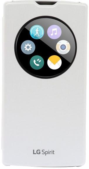 LG QuickCircle pouzdro CCF-590 pro LG Spirit, bílá
