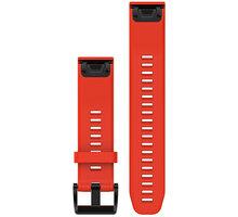 GARMIN náhradní řemínek pro Fenix 5 a Forerunner 935 QuickFit™ 22, červený - 010-12496-03