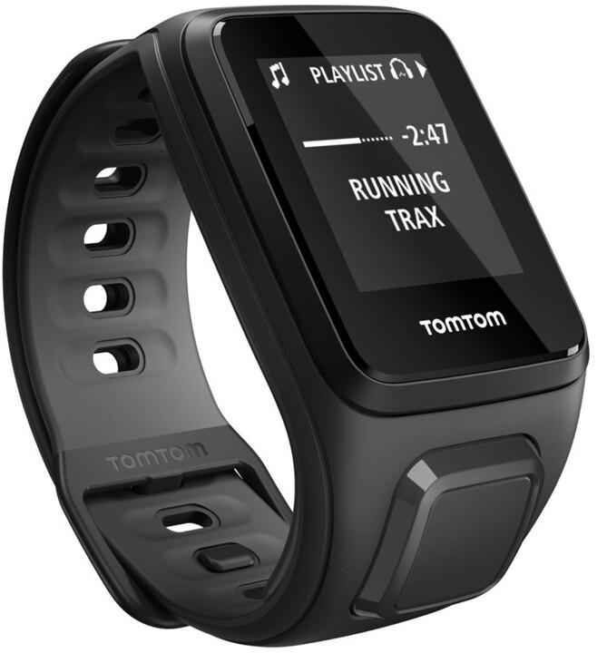 TOMTOM Runner 2 (velikost S), černá/antracit