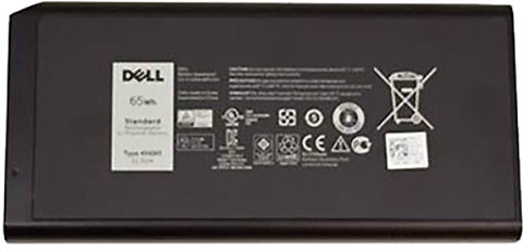Dell baterie, 6-cell, 65Wh LI-ON pro Latitude 14 Rugged 5404/7404