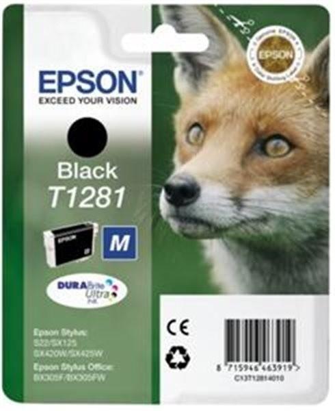 Epson C13T12814010, černá