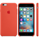 Apple iPhone 6s Plus Silicone Case, oranžová