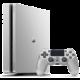 PlayStation 4 Slim, 500GB, stříbrná + 2x DS4