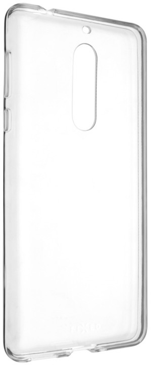 FIXED TPU gelové pouzdro pro Nokia 5, čiré