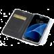CELLY Air pouzdro typu kniha pro Samsung Galaxy S7, PU kůže, černá