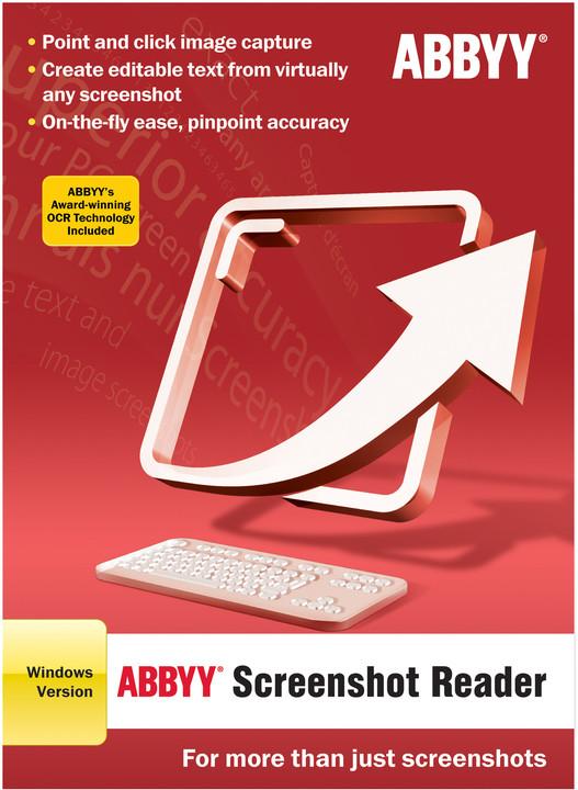 ABBYY Screenshot Reader / ESD / CZ