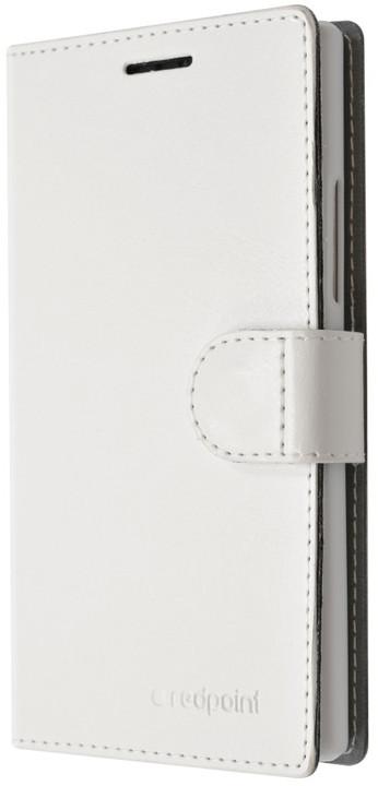 FIXED FIT pouzdro pro Lenovo A7000, kolekce RedPoint, bílá