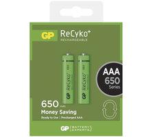 GP AAA ReCyko+ 650 series, nabíjecí, 2 ks - 1032112020