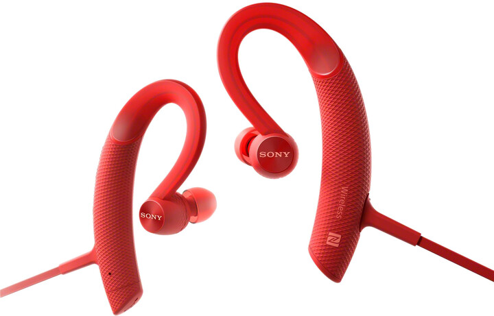 Sony MDR-XB80BS, červená