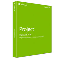 Microsoft Project Standard 2016, (nekompatibilní s Office 2013) - Z9V-00342