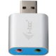 i-Tec USB 2.0 adapter na Audio, mini, metal
