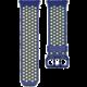Fitbit Ionic sportovní řemínek modrožlutý - velikost L