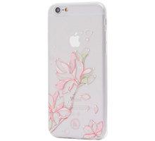 EPICO pružný plastový kryt pro iPhone 6/6S HOCO LILY - bílý transparentní - 4410101000023