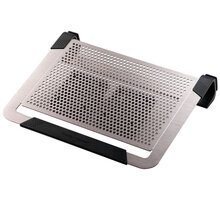"CoolerMaster NotePal U2 PLUS pro NTB 12-17"" titanium, 2x8cm fan - R9-NBC-U2PT-GP"