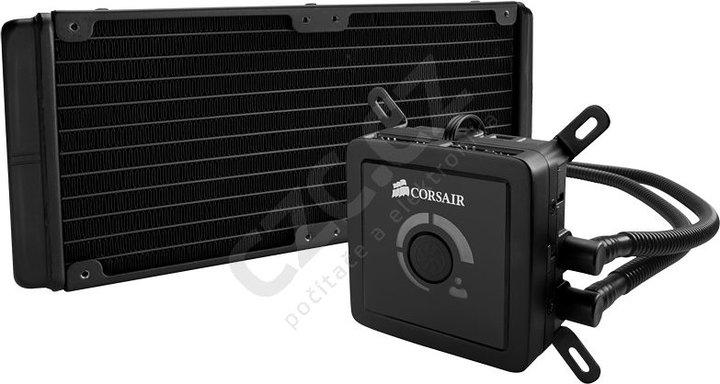 Corsair H100 komplet vodního chlazení CPU