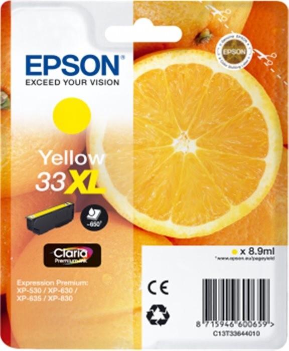 Epson C13T33644010, XL, žlutá