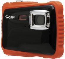 Rollei Sportsline 65, voděodolný, černá/oranžová, brašna - 10057
