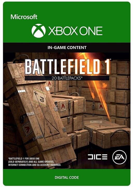 Battlefield 1 - Battlepack X20 (Xbox ONE) - elektronicky