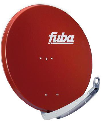 FUBA parabola 80 Al, červená