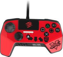 Mad Catz Street Fighter V FightPad PRO V2, červený (PS4,PS3) - SFV89252BSA3/04/1