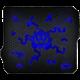 Podložka C-TECH Anthea Cyber, modrá v ceně 150 Kč