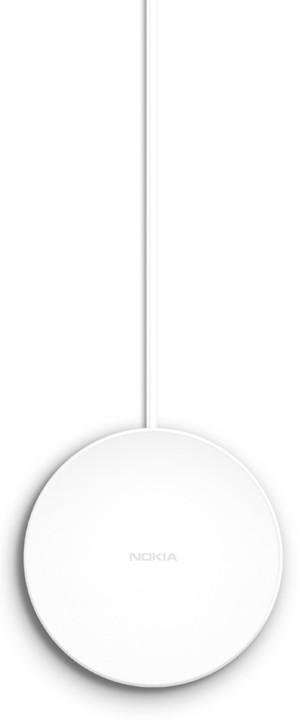 Nokia nabíjecí podložka DT-601 pro bezdrátové nabíjení, bílá