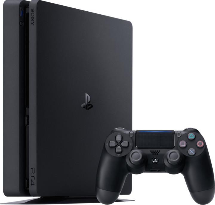 PlayStation 4 Slim, 1TB, černá
