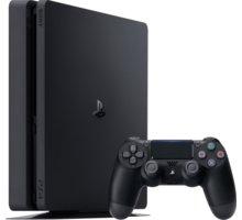 PlayStation 4 Slim, 1TB, černá - PS719851059FIFA + Hra FIFA 17 pro PS4 v ceně 1600 kč + Gamepad Sony PS4 DualShock 4, černý v ceně 1200kč