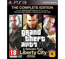 Grand Theft Auto IV Complete - PS3 - 5026555405645
