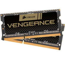 Corsair Vengeance 16GB (2x8GB) DDR3 1600 SO-DIMM CL 10 - CMSX16GX3M2A1600C10