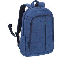 RivaCase batoh 7560, tmavě modrá - RC-7560-DBU + Zdarma Sluchátka KNG OOZY do uší, červená (v ceně 149,-)