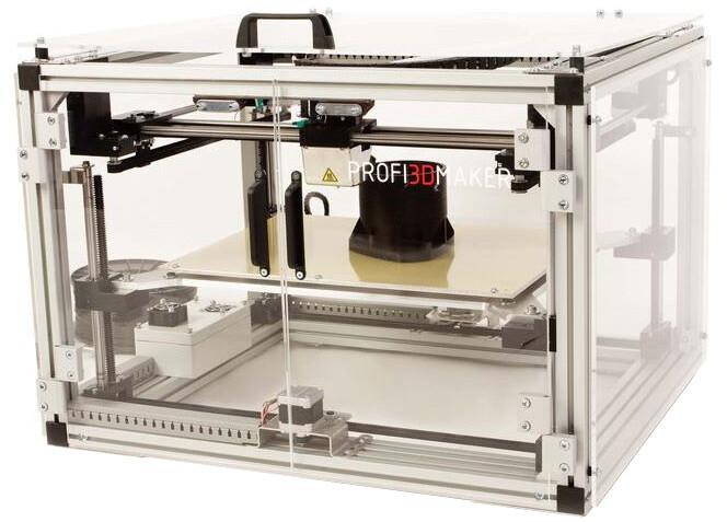3D Factories ProfiMaker, 3D tiskárna, 0,5 mm