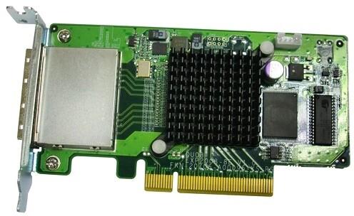 QNAP SAS-6G2E-U - rozšiřující úložná karta SAS 6Gb/s