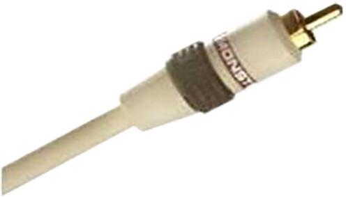 Monster subwooferový kabel, konektory pozlacené 24 karátovým zlatem, 5m.