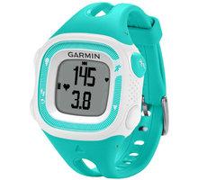 GARMIN Forerunner 15 HR, S, zelená/bílá - 010-01241-71
