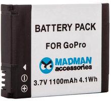MadMan Baterie pro GoPro HD HERO2 - MDMBATHERO2