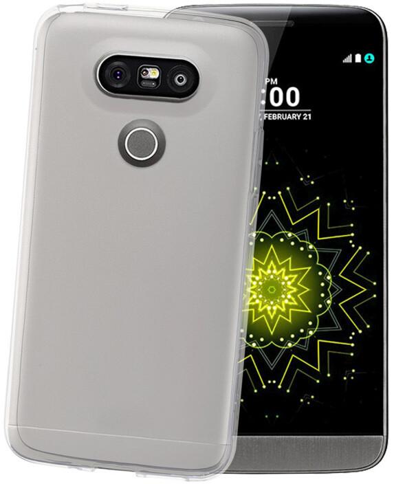 CELLY Gelskin pouzdro pro LG G5, bezbarvé