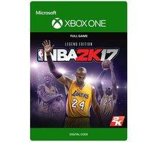 NBA 2K17: Legend Edition (Xbox ONE) - elektronicky - G3Q-00209