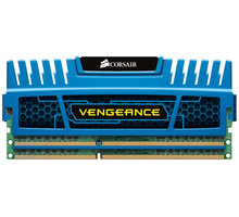 Corsair Vengeance Blue 8GB (2x4GB) DDR3 1600 CL 9 - CMZ8GX3M2A1600C9B