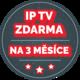 IP TV Premium na 3 měsíce v hodnotě 2.097,- zdarma k TP-linku