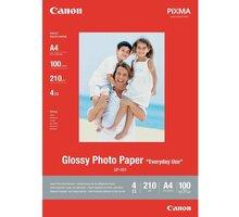 Canon Foto papír GP-501, 10x15 cm, 100 ks, 210g/m2, lesklý - 0775B003