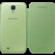 Samsung flip EF-FI950BGEG pro Galaxy S 4, zelená