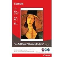 Canon Foto papír Fine Art Museum Etching FA-ME1, A3+, 20 ks, 350g/m2, matný - 1262B007