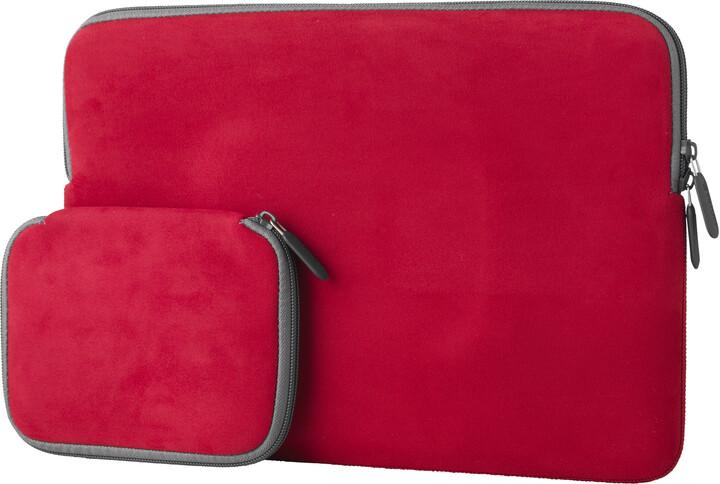 """eSTUFF Sleeve for MacBook 13"""" - Red"""