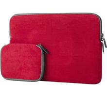 """eSTUFF Sleeve for MacBook 13"""" - Red - ES1504R"""