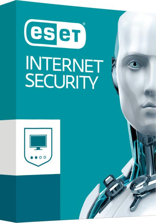 ESET Internet Security pro 1 PC na 2 roky, prodloužení licence