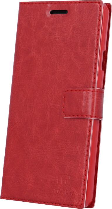 myPhone pouzdro s flipem pro PRIME PLUS, červená