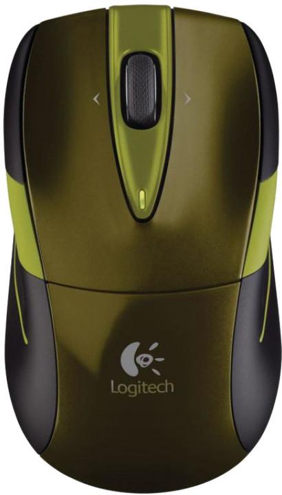 Logitech Wireless Mouse M525, zelená